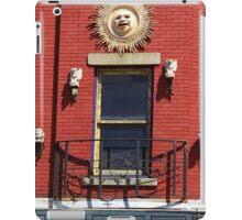 Gargoyles and Balcony, Auburn, New York iPad Case/Skin