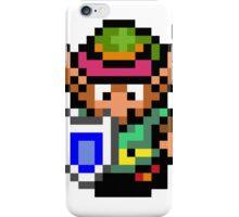 8 BIT Zelda - Link iPhone Case/Skin