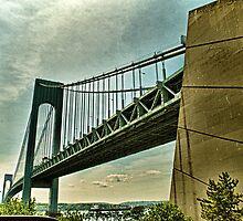 Verrazano Narrows Bridge by wonderlandnyc