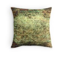 Wired Binary Code edition 6 Throw Pillow