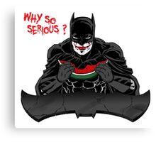 BatShit Serious Canvas Print