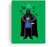 Underwear Darth Vader  Canvas Print
