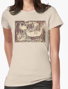 Aware, Transcending Womens Fitted T-Shirt