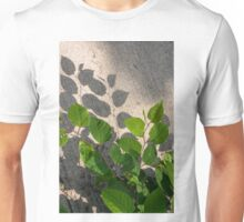 Leaves Shadows Unisex T-Shirt