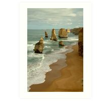 Patterns,Twelve Apostles Great Ocean Rd Art Print