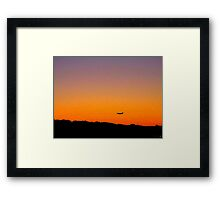 Journey Across The Earth Framed Print