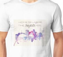 Home is where the beignets are Unisex T-Shirt