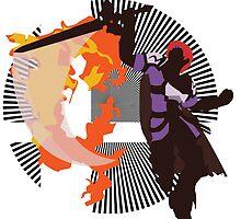 Roy (Smash 4, Lavender & Violet) - Sunset Shores by Kevandre