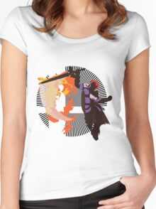 Roy (Smash 4, Lavender & Violet) - Sunset Shores Women's Fitted Scoop T-Shirt