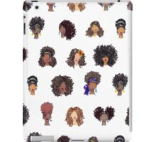 How To Be Curly Allover iPad Case/Skin