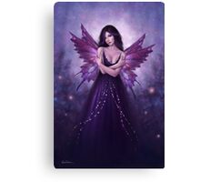 Mirabella Purple Butterfly Fairy Canvas Print