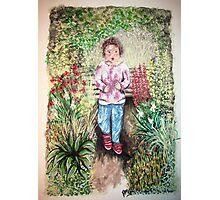 Molly's garden  Photographic Print