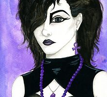 Leonora - 80s Goth by coracrow