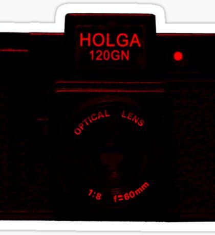 Holga 120 GN Sticker