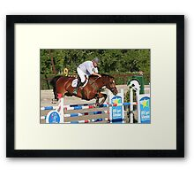 George Sanna - World Cup Qualifier 2009 Framed Print