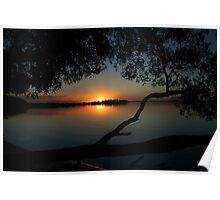 Mallabula Sunset Poster
