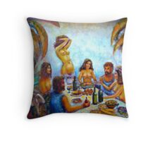 Time at the Beach 2 Throw Pillow
