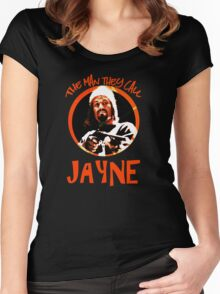 The Man They Call Jayne Women's Fitted Scoop T-Shirt