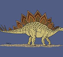 Stegosaurus by Richard Fay