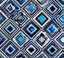 Test Pattern (Blue) by Joel Lambeth