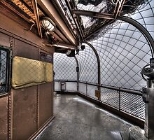 Top of the Eiffel Tower by shutterjunkie