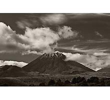 Mt. Ngauruhoe - New Zealand ... aka Mt. Doom - Middle Earth Photographic Print