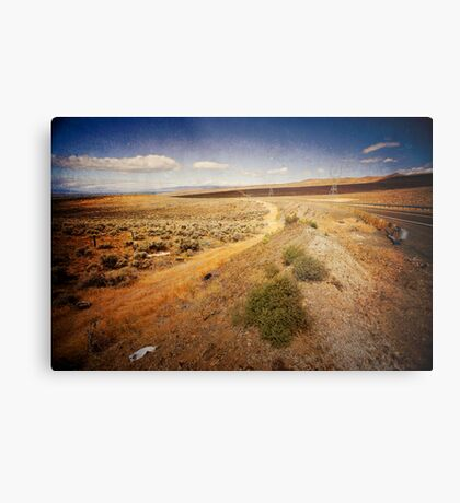 Washington State desert lands Metal Print