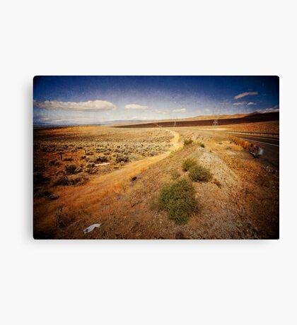 Washington State desert lands Canvas Print