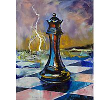 Queen of Chess Photographic Print