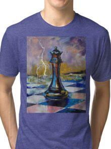Queen of Chess Tri-blend T-Shirt