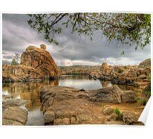 Watson Lake in  Prescott, AZ Poster
