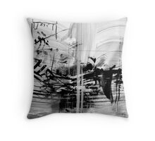 Zen painting Throw Pillow
