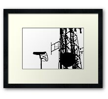 Always Watching Framed Print