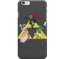 Legend of Zelda Puppets, Full Color iPhone Case/Skin