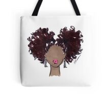 How To Be Curly Two Tote Bag