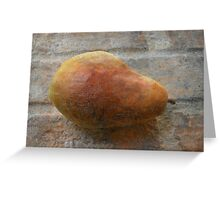 Rustic Pear Greeting Card