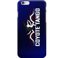 Coyote Tango (var 3) iPhone Case/Skin