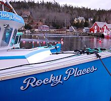 Rocky Places Nova Scotia Canada by Roxane Bay