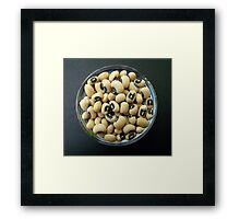 Black Eyed Peas Framed Print