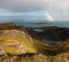Skye and sea by Peter Gallagher