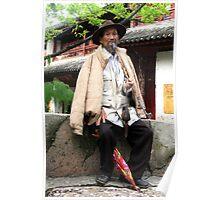 Old Man of Lijiang Poster