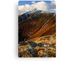 Blencathra from Scales Fell Canvas Print