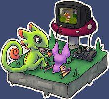 Yooka-Laylee play N64 by ChariArtist