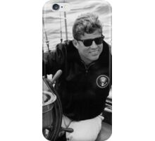 President John Kennedy Sailing iPhone Case/Skin