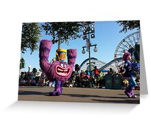 Monsters University Greeting Card