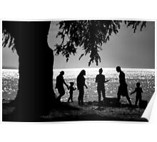 Afternoon At The Beach Poster