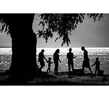 Afternoon At The Beach Photographic Print