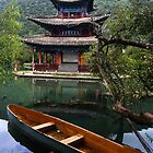 Black Dragon Pool  - Lijiang China by Malcolm Roberts