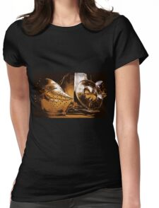 Shiny Knight Armour! Womens Fitted T-Shirt