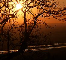 Romney Marsh Sunset by Patrick Noble